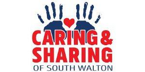 Caring and sharing logo