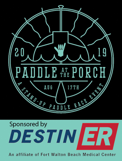 Paddle at the Porch 2019 logo