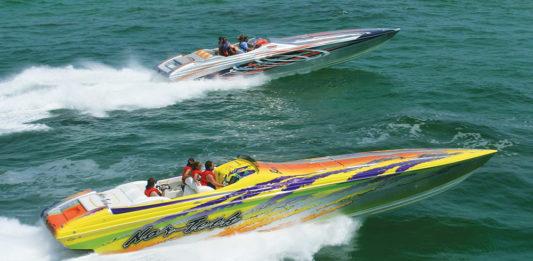 Poker Run Boat