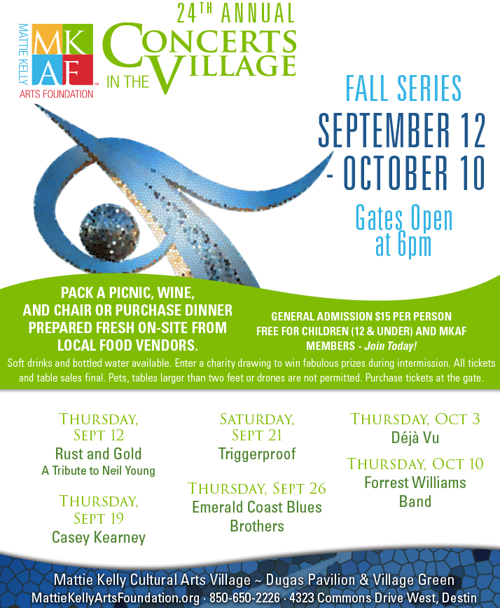 Concerts in the Village FALL 2019