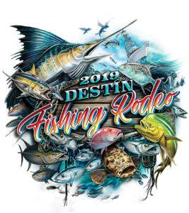 Destin Fishing Rodeo Logo