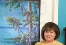 Destin Banner Artist Debbie Prestwood