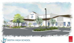 Destin Charter High School Rendering