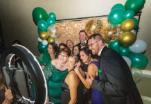 Emerald Ball Photo Booth