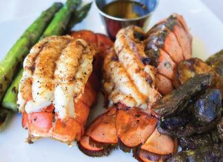 beach walk lobster