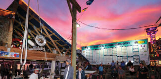 Destin Fishing Rodeo sunset