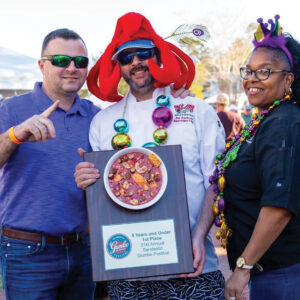 Gumbo and Mardi Gras Go Together Like, Oh Yeah!